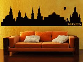 skylines city wandtattoos wandaufkleber bestellen bei der aufkleber. Black Bedroom Furniture Sets. Home Design Ideas