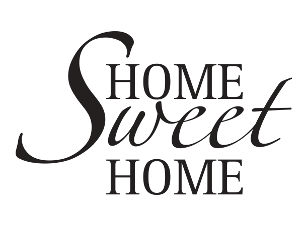 Home Sweet Home Png Wandtattoo / Wandaufkleber Home Sweet Home
