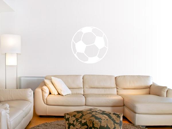 Wandtattoo Fussball