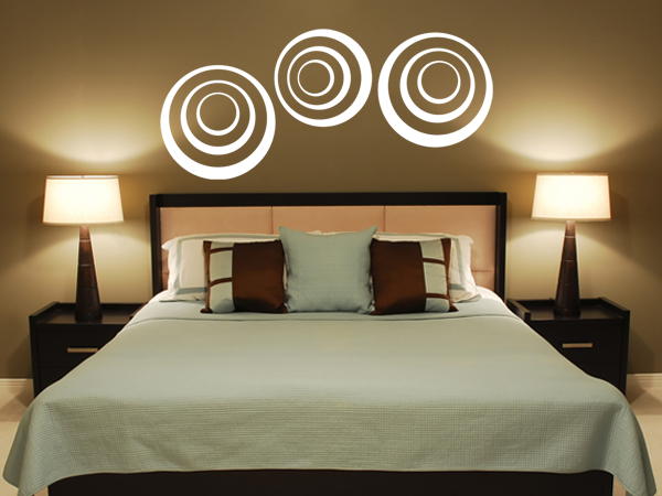 wandtattoo wandaufkleber kreise und zirkel bestellen bei. Black Bedroom Furniture Sets. Home Design Ideas